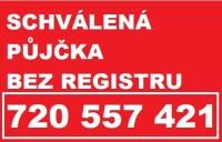 schválená půjčka bez registru
